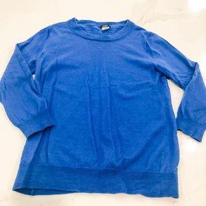 J. Crew Merino Wool 3/4 Sleeve Sweater